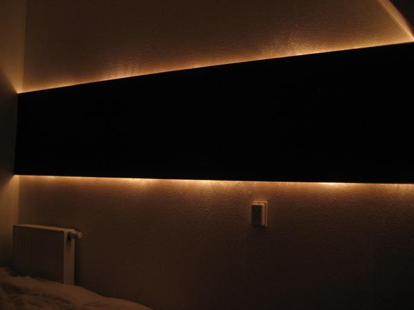 Creative And Affordable Indirect Wall Lighting Diy Project With