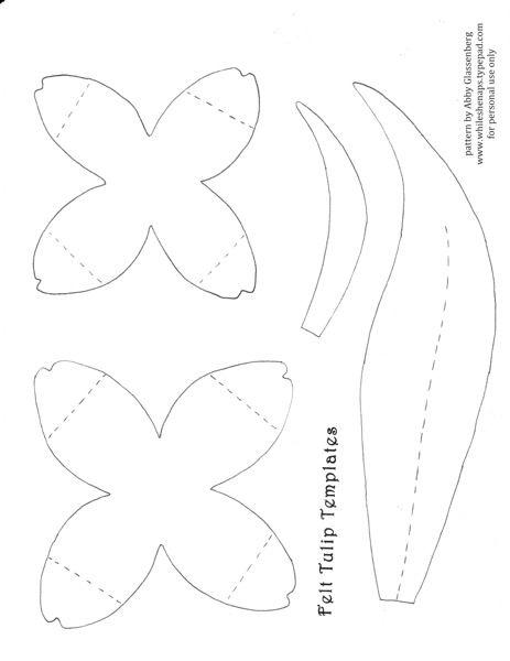 printable felt food patterns tulip petals petal pattern large rose