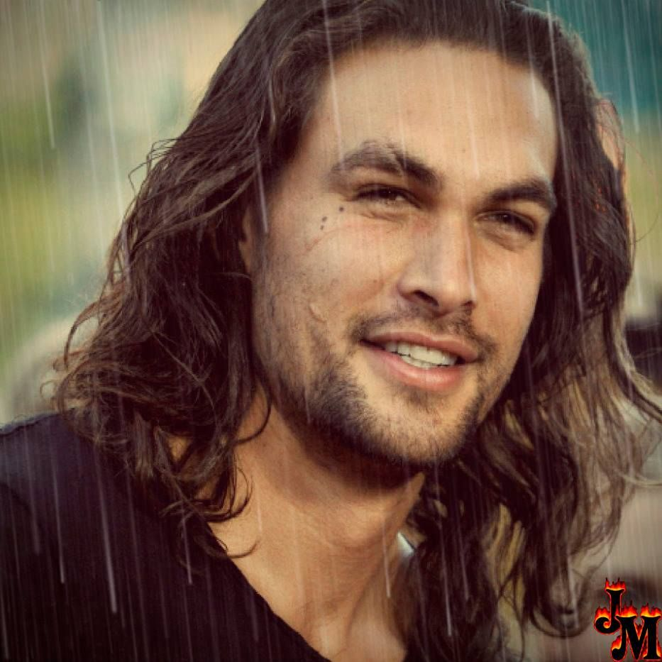 Jason Momoa Heritage: Like The Rain Effect. Looks Good On Him. Sexy. When Wet