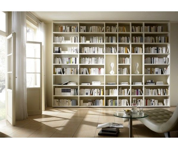 Grande biblioth que murale meuble biblioth que for Meuble bibliotheque design