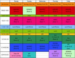 Image Result For Elementary School Master Scheduling