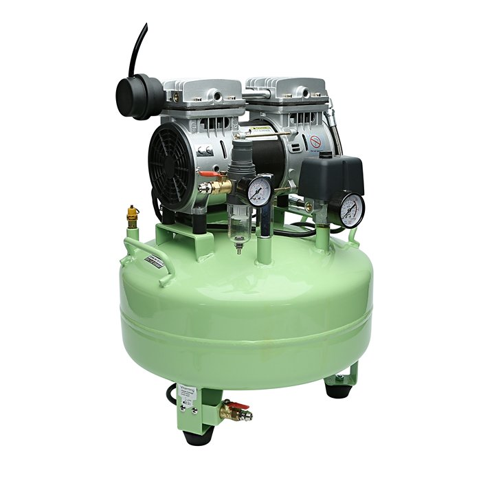 OilFree Quiet Air Compressor Silent Running Airbrush