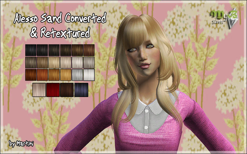 Alesso Sand Converted & Retextured