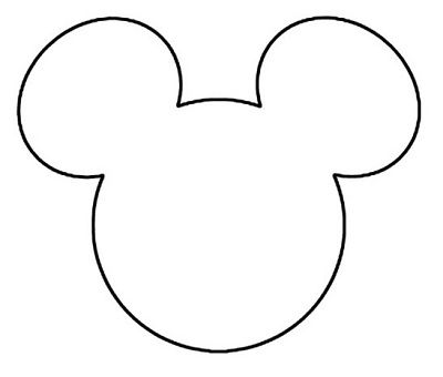 Dashing image throughout mickey mouse outline printable