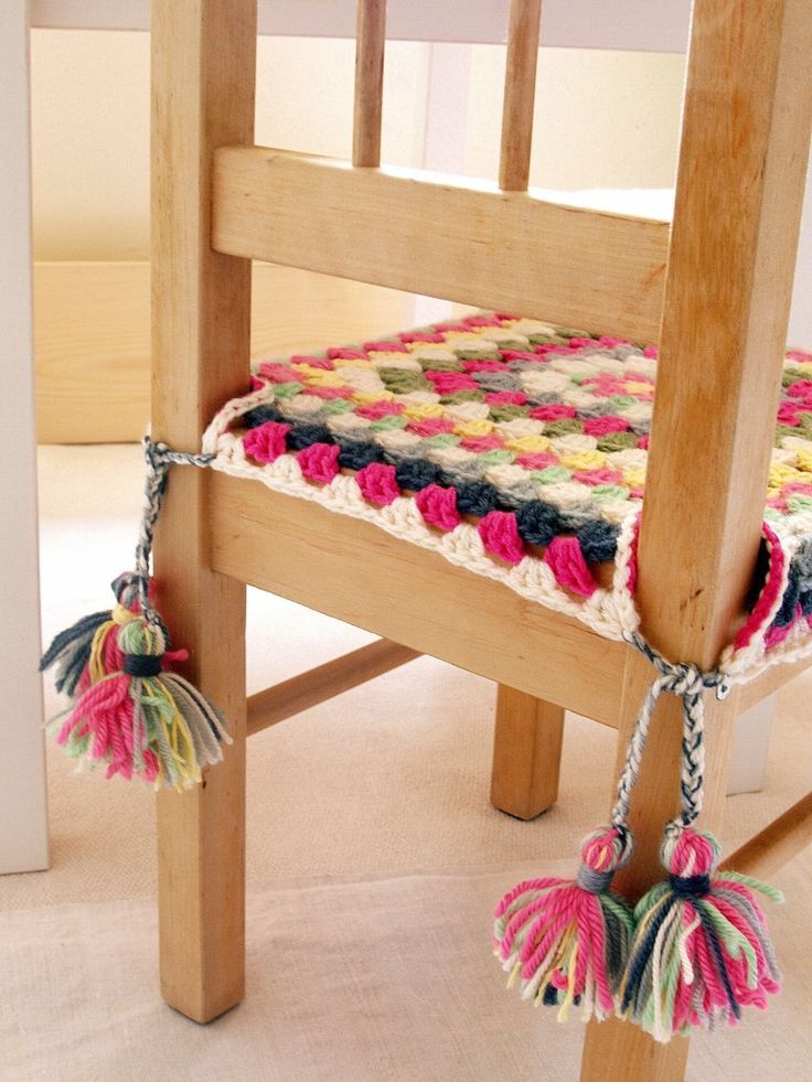 Happy Crochet Chair Covers Cool Crochet Pinterest Crochet