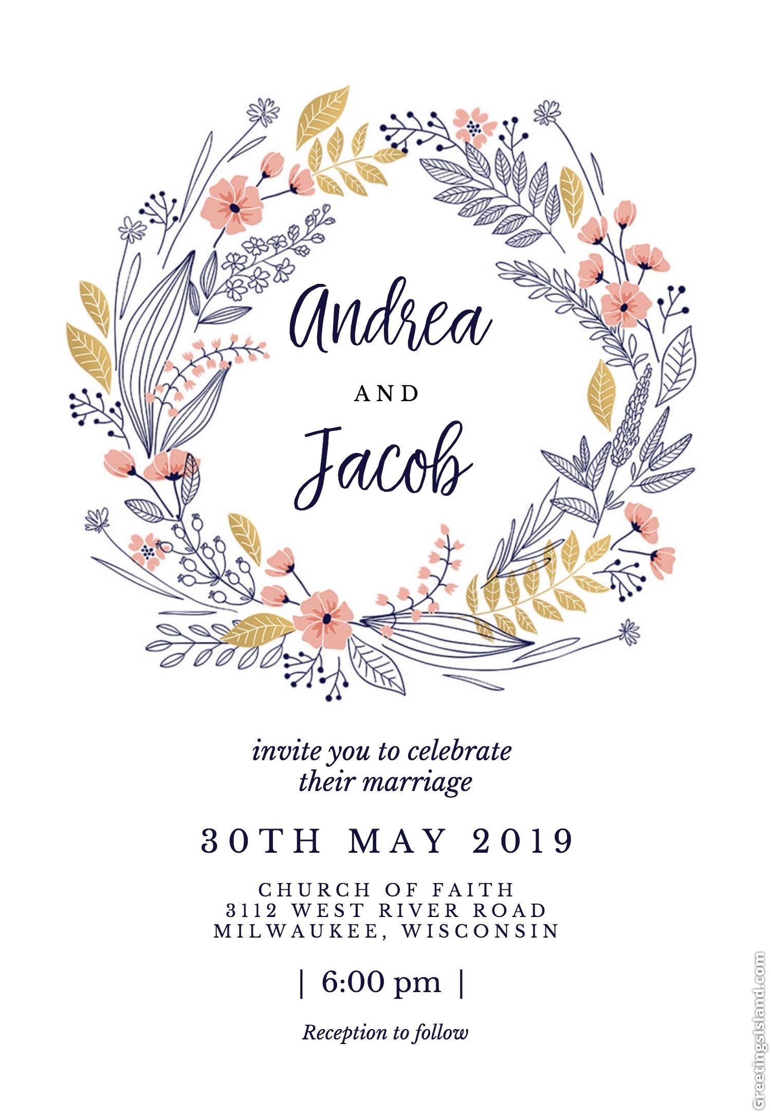 Wonderful 25 Most Por Wedding Invitations 2019