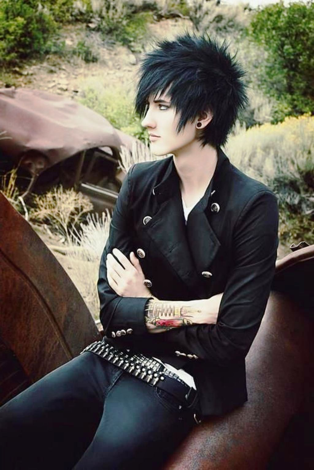 25 punk hairstyle ideas for men to try emo hairstyles