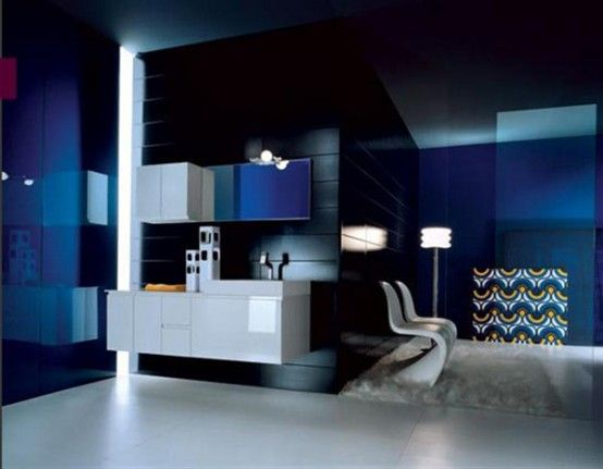 Best Salle De Bain Bleu Nuit Pictures - Awesome Interior Home ...