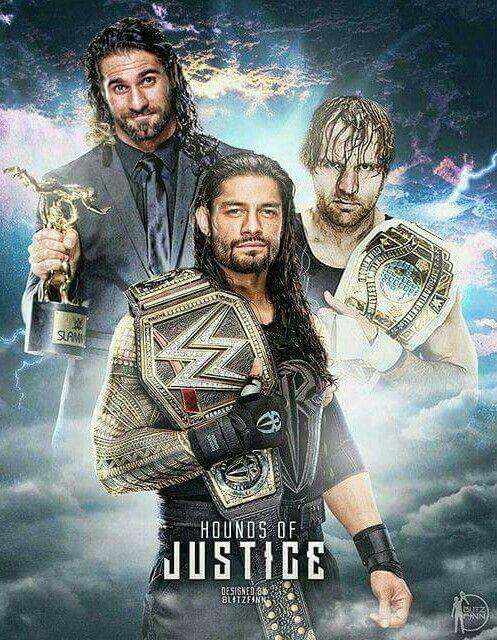 Roman Reigns Dean Ambrose Seth Rollins Believe In The Shield