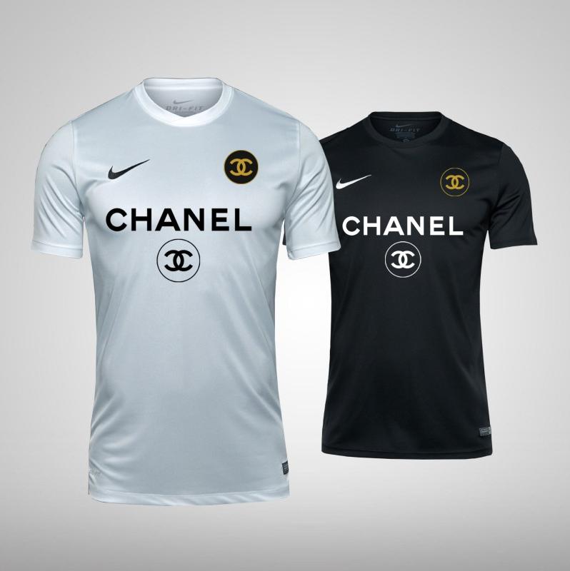brand new e664c bd96a Chanel x Nike Dri-Fit Jersey | Jerseys in 2019 | Nike dri ...