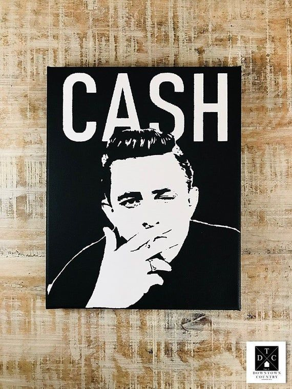 Johnny Cash Johnny Cash Wall Art Johnny Cash Art Johnny Cash Decor Johnny Cash Portrait Jo Johnny Cash Art Johnny Cash Quotes Johnny Cash Museum