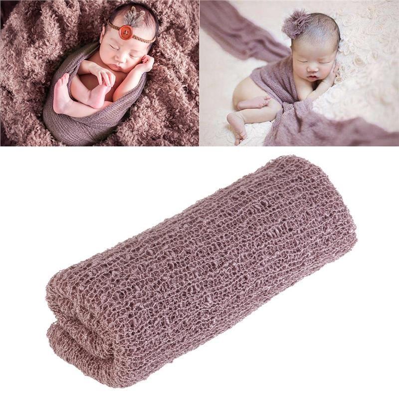f017a5ed9e7 TINKSKY Newborn Baby Photography Photo Prop Stretch Wrap Baby Long Ripple  Wrap Newborn Baby Photography