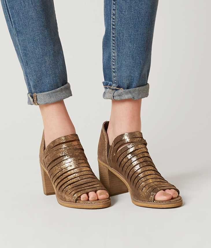 Naughty Monkey Blind Date Shoe - Women's Shoes in Gold | Buckle