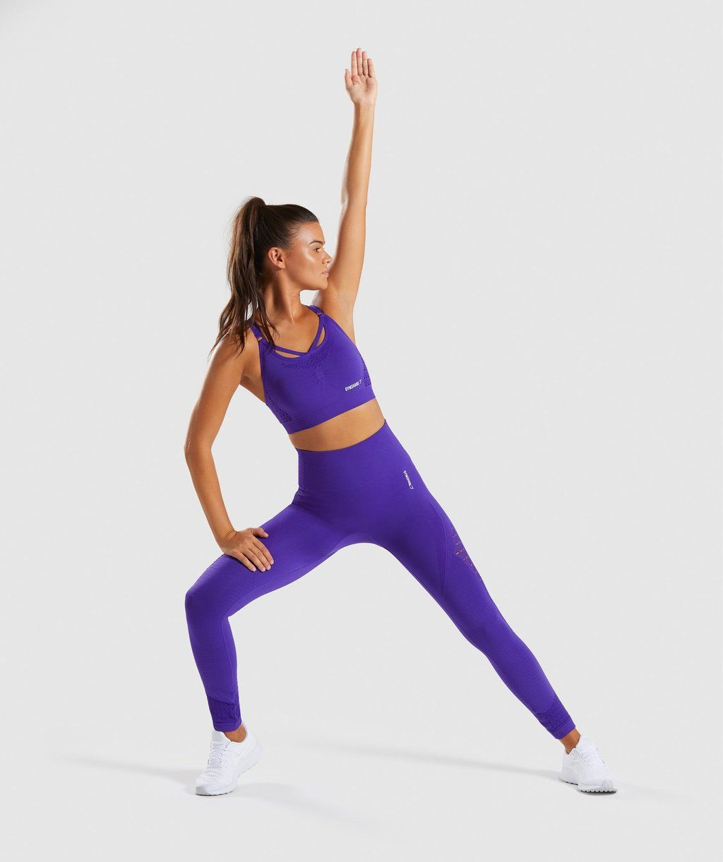 5cebe6d2d6b98 Gymshark Energy+ Seamless Leggings - Indigo 3 Gymshark Energy+ Seamless  Leggings - Indigo Lycra Leggings,