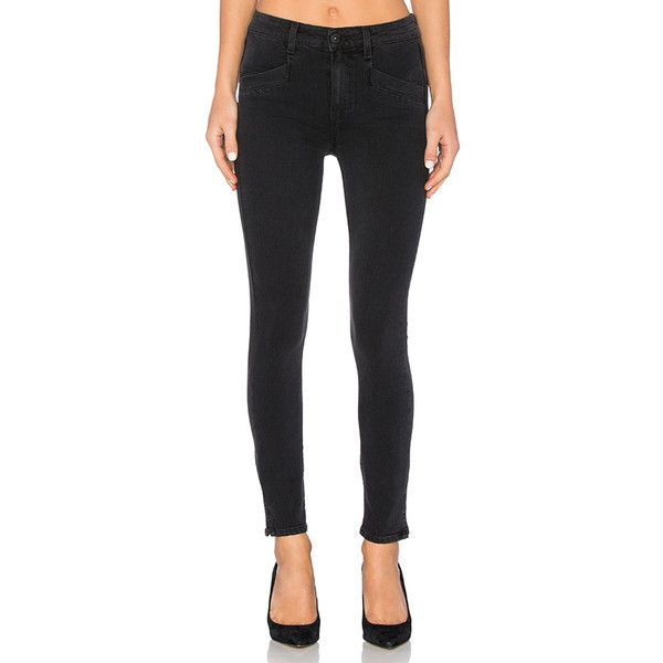 Paige Denim Roxxi Ankle Skinny ($195) ❤ liked on Polyvore featuring jeans, paige denim jeans, paige denim, paige denim skinny jeans and skinny ankle jeans