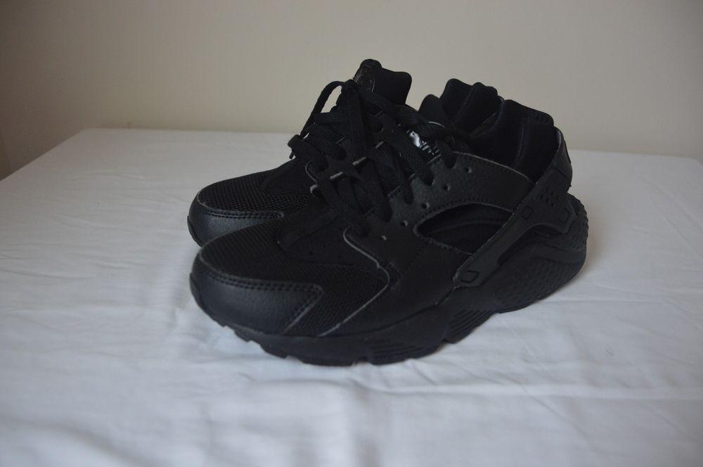 60f7bd06f02 NIKE AIR HUARACHE TRIPLE BLACK 318429 003 ATHLETIC BASKETBALL MEN S SIZE 7y  WB  fashion  clothing  shoes  accessories  mensshoes  athleticshoes (ebay  link)