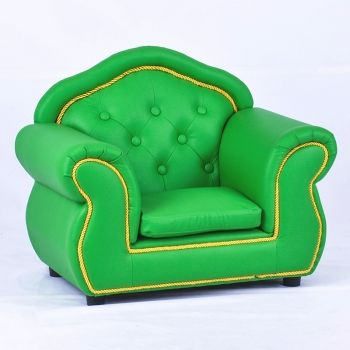 Sofa Cover Inexpensive Small Size Durable Children Leather Sofa Chair SXBB