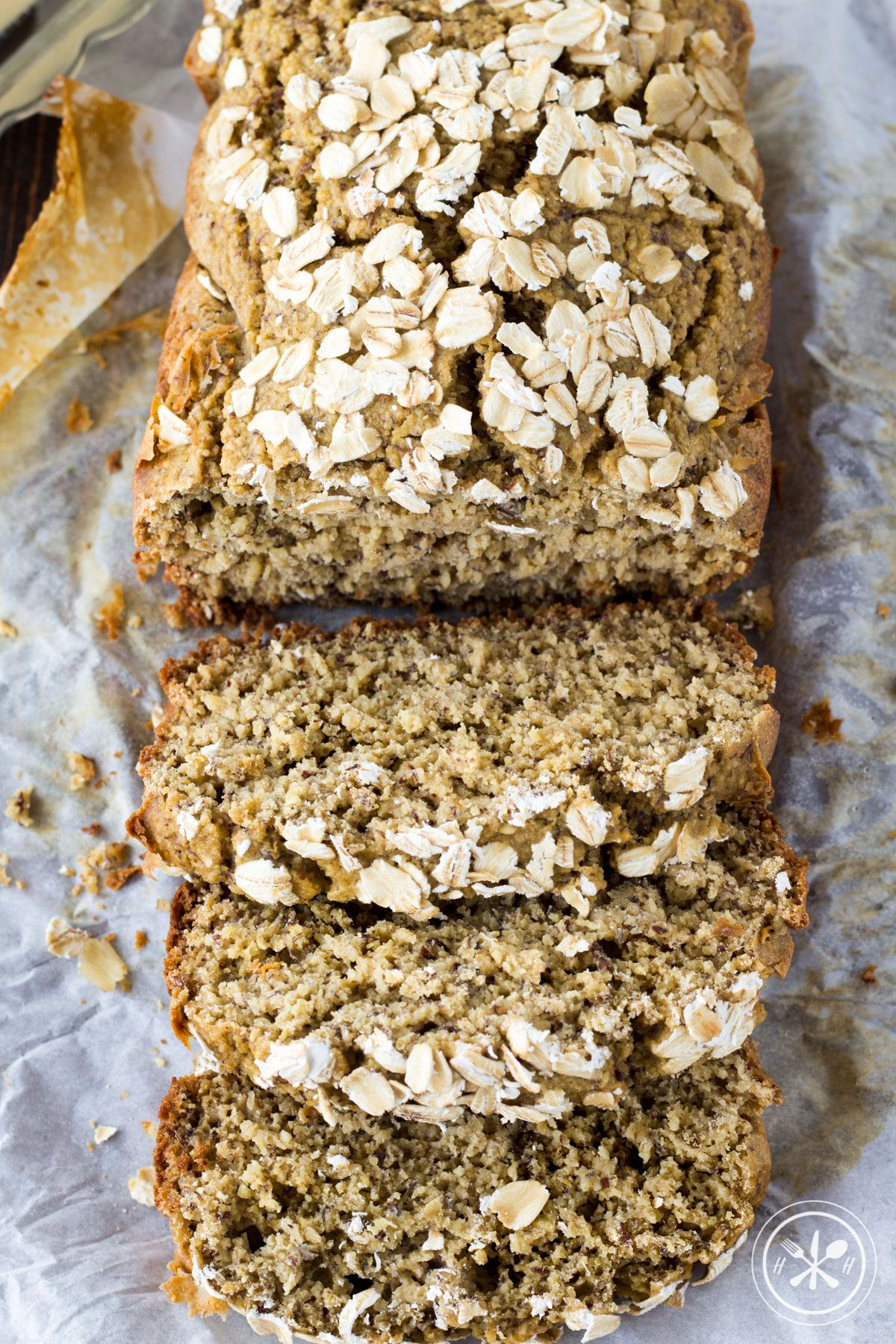 This gluten-free oat flour bread is made with just a few ...