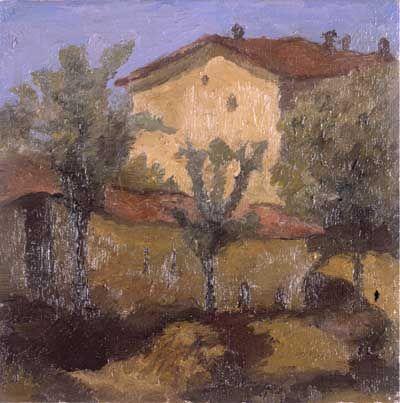 155. Morandi, Giorgio - 1927 - Paesaggio - Rovereto, MART