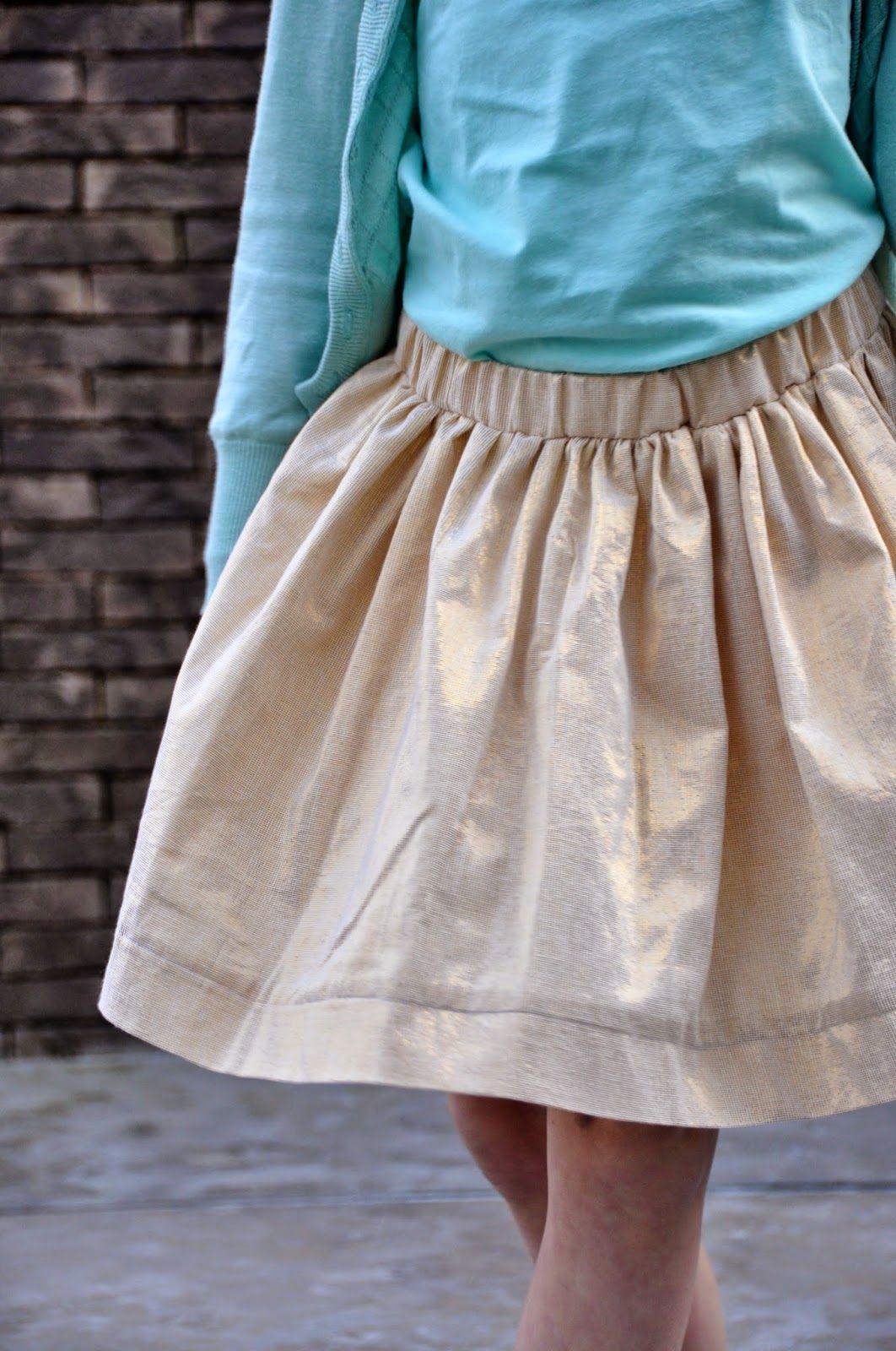 patroon rok met elastiek