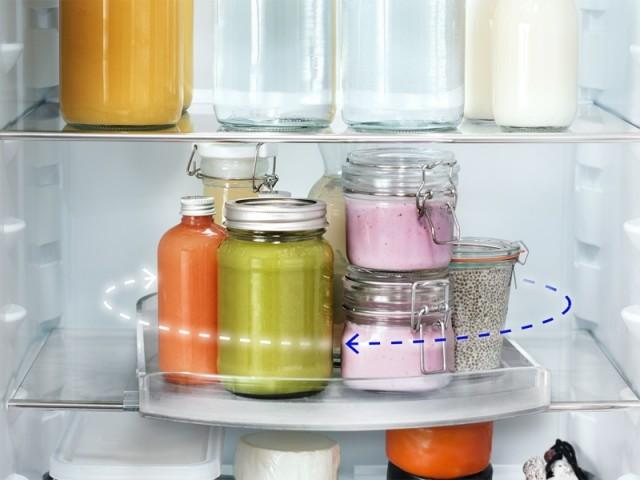 Cuisine 10 Amenagements Malins Qui Simplifient Le Quotidien Refrigerateur Cuisine Cuisine Maison A Part