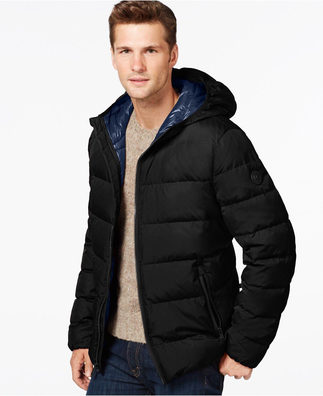 Michael Kors Michael Kors Men S Down Puffer Jacket Created For Macy S Reviews Coats Jackets Men Macy S Moda De Invierno Ropa De Moda Michael Kors