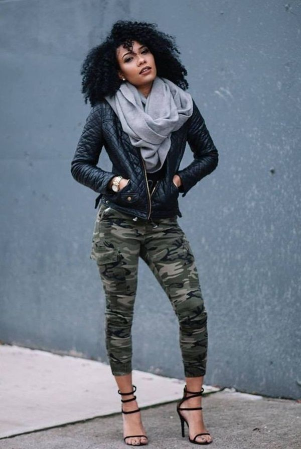 25 Stylish Ideas to wear Camo Pants to look hot as hell ...