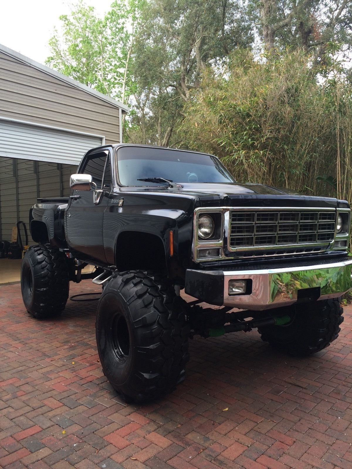 small resolution of 1979 chevy scottsdale k10 stepside 454 motor automatic a c truck