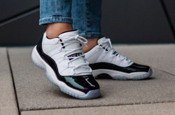 31f22e83e5ae53 Release Reminder  Air Jordan 11 Low Iridescent (Easter) It s almost Easter  Sunday