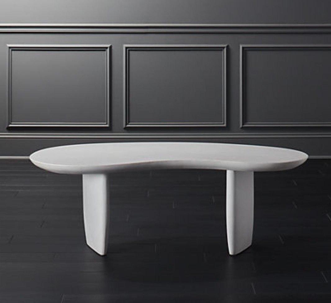 Cb2 X Goop Jelly Bean Coffee Table Acrylic Coffee Table Modern Furniture Living Room Leather Coffee Table [ 976 x 1066 Pixel ]