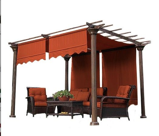Pergola Shade Canopy (fabric only) For over the swing Hara's Deck - Pergola Shade Canopy (fabric Only) For Over The Swing Hara's Deck