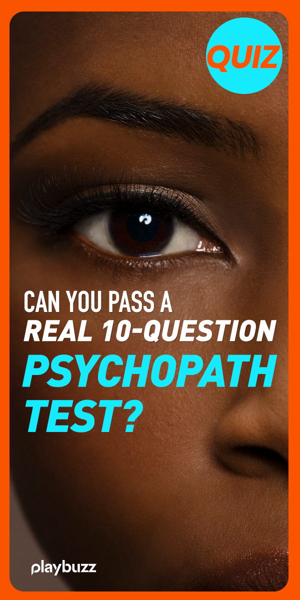 Can You Pass A REAL 10-Question Psychopath Test? | Horrific