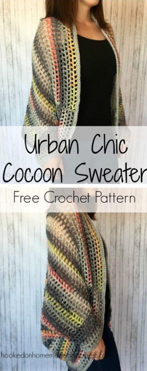 Crochet Cocoon Shrug Pattern Ideas Shrugs Wraps Cirkelvesten