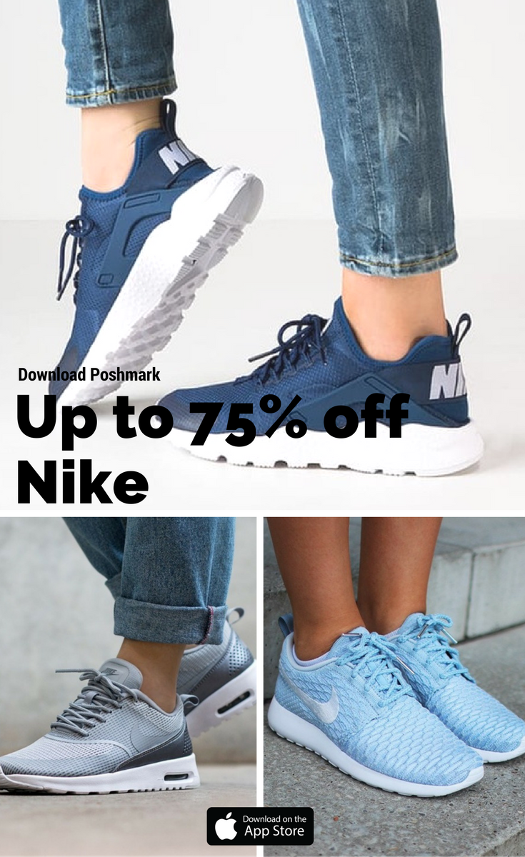 68e379d621c4 Why pay full price when you could save 50-75%  Find Nike and the hottest  brands at incredible prices on Poshmark. Install the FREE app now!