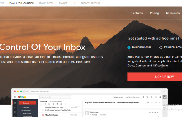 Beginner's Guide to Setting Up Custom Email with Zoho Mail