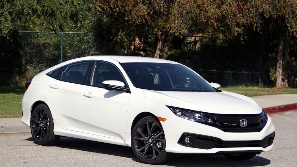 2019 Honda Civic Sport Sedan Review Specs Photos And Driving Impressions Honda Civic Sport Sports Sedan Honda Civic