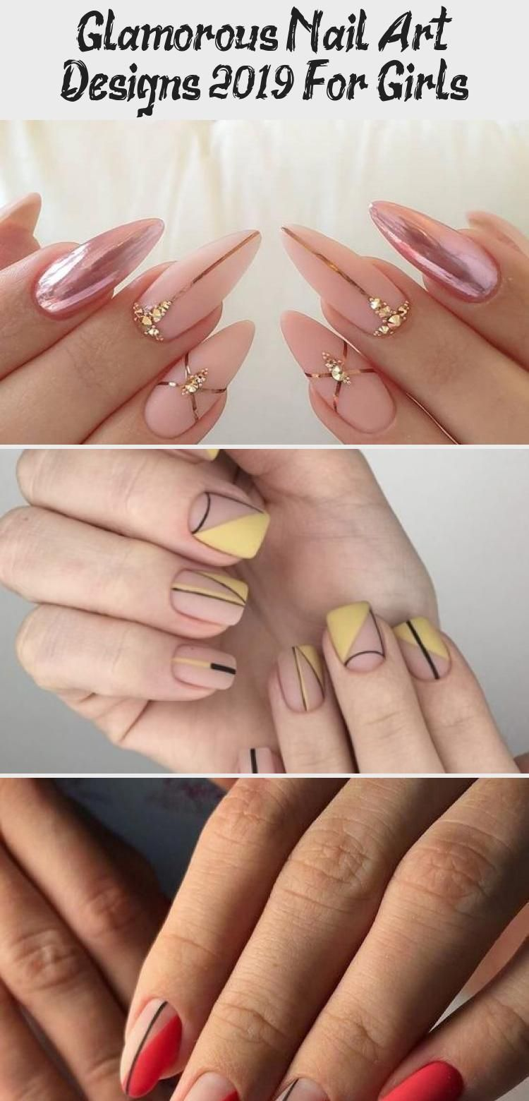 Glamorous Nail Art Designs 2019 For Girls Fashions Eve Nailpolishtricks Nailpolishflowers Nailpolishsummer In 2020 Glamorous Nails Girls Nails Nail Polish Flowers