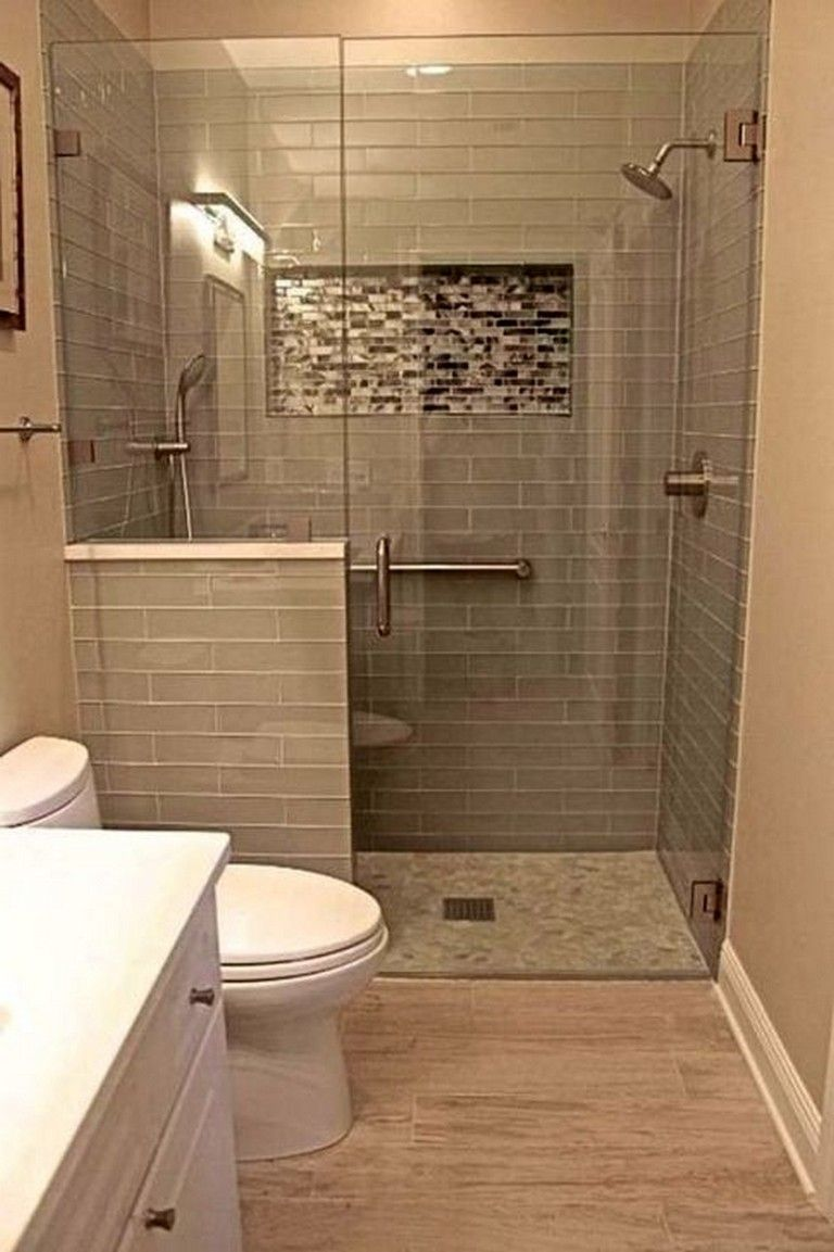 48 Perfect Bathroom Remodeling Ideas That Will Inspire You Page 6 Of 49 Small Bathroom Renovations Small Bathroom Small Bathroom Makeover