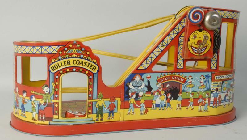 Lot# : 693 - Shine Tin Litho No.275 Roller Coaster Toy