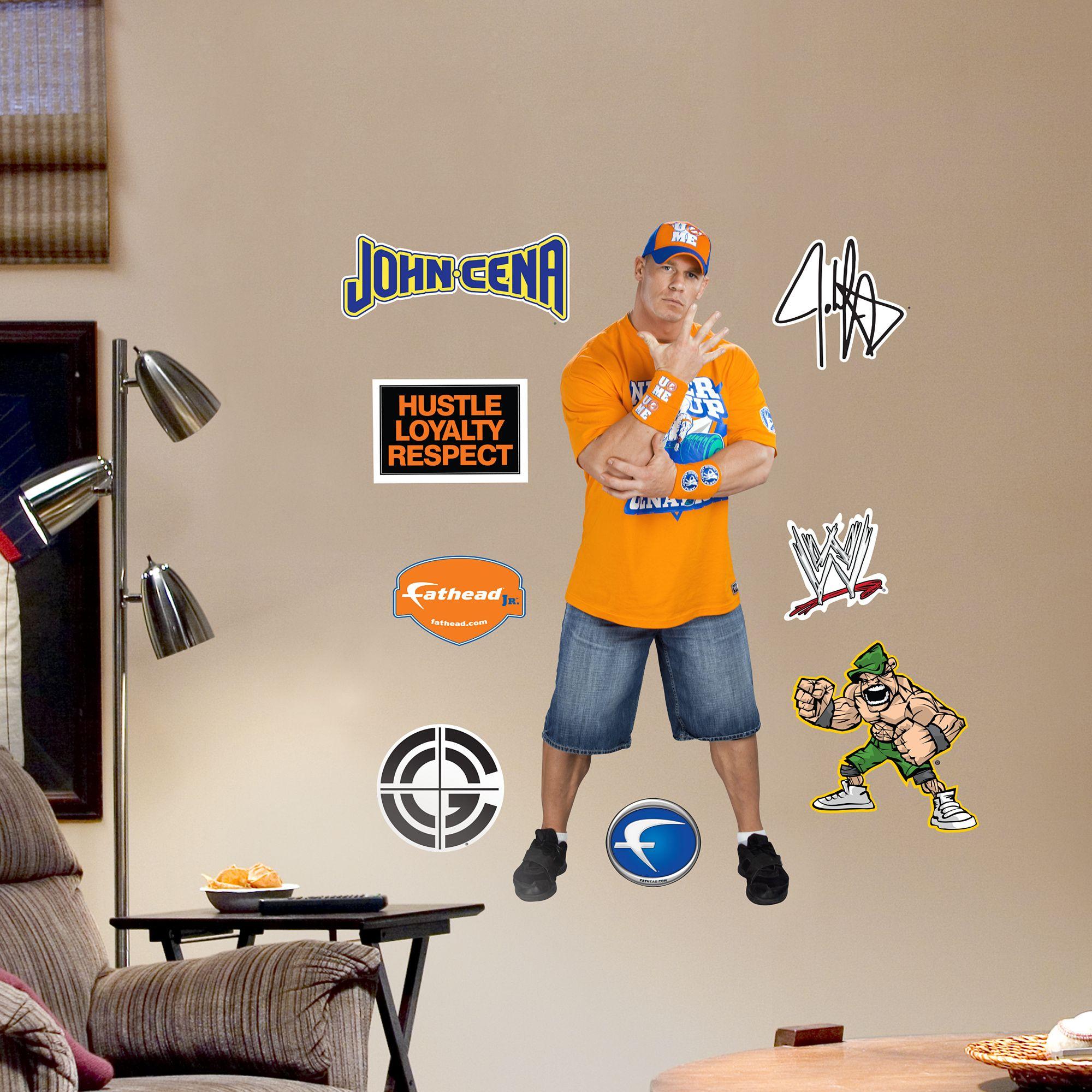 John Cena Fathead Jr John Cena Fathead Kids House
