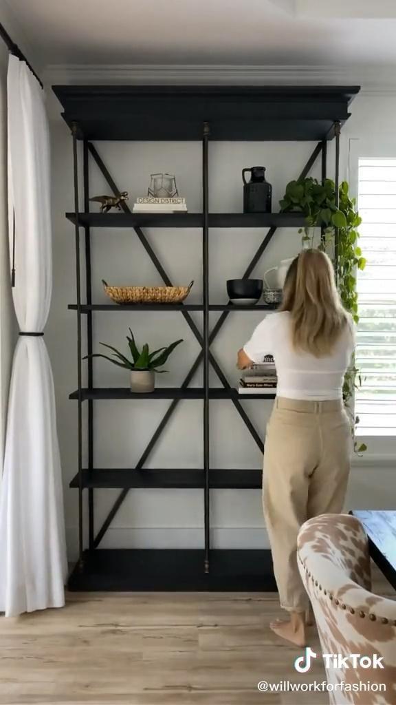 How to style a shelf!