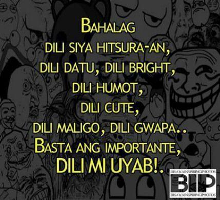 funny bisdak caption bisaya tagalog pinterest pinoy