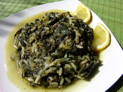 Spinich with rice arabic food recipes arabic african and middle spinich with rice arabic food recipes forumfinder Image collections