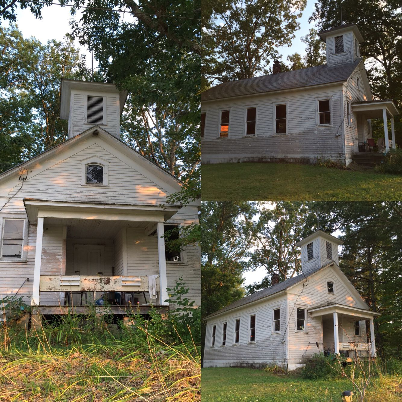 Abandoned Church, House Styles