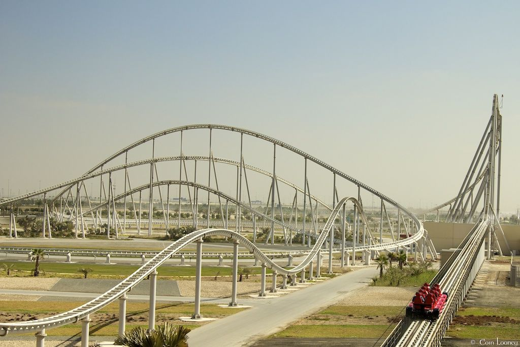 Longest Roller Coasters. Number 6: Formula Rossa   6562 Feet At Ferrari  World On Yas Island In Abu Dhabi, Part Of The United Arab Emirates