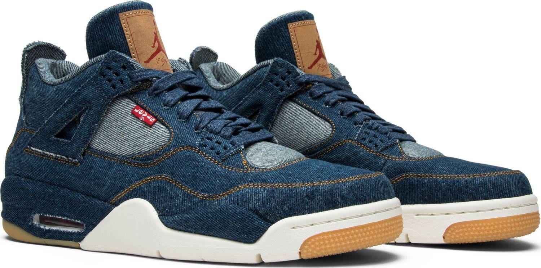Levi's x Air Jordan 4 Retro 'Denim' | Air jordans, Jordan 4