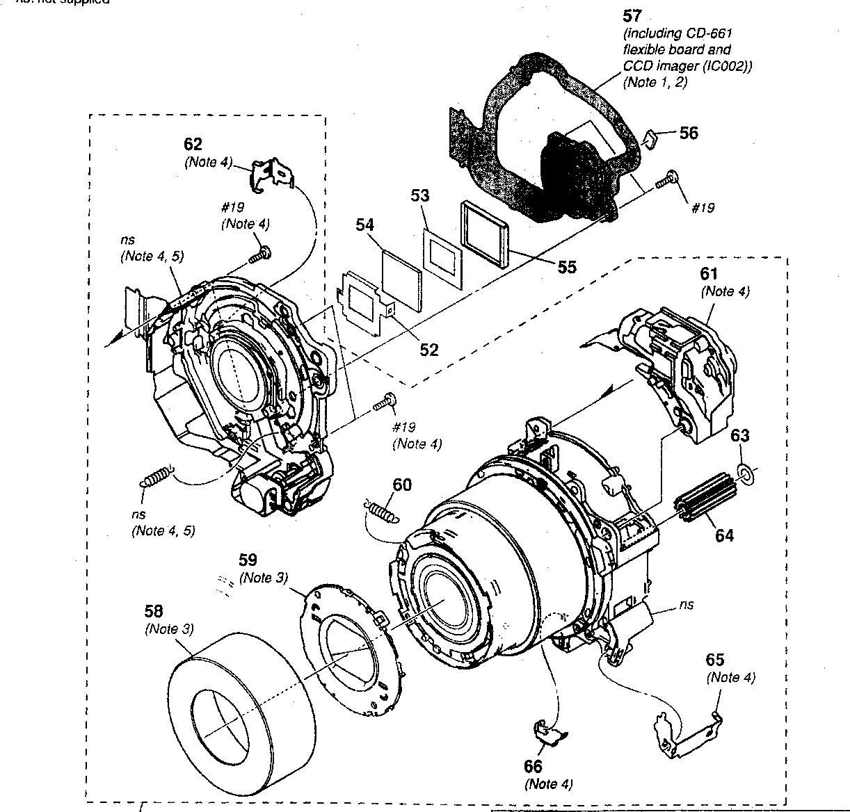 Camera Lens Parts Diagram