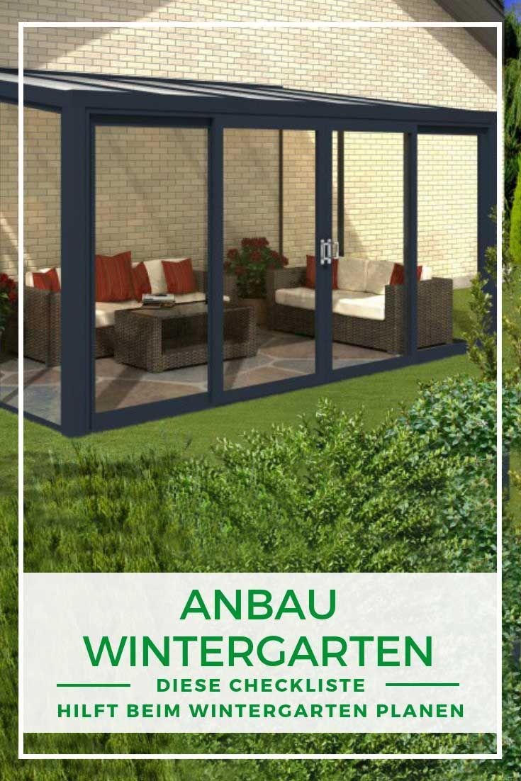 Pin von Wolfgang Neudam auf cool Wintergarten, Anbau