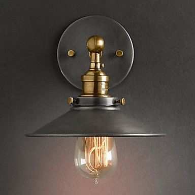 Traditionalclassic wall lamps sconces for metal wall light 110 60wminimalistrusticwalllightwithblackmetal aloadofball Images