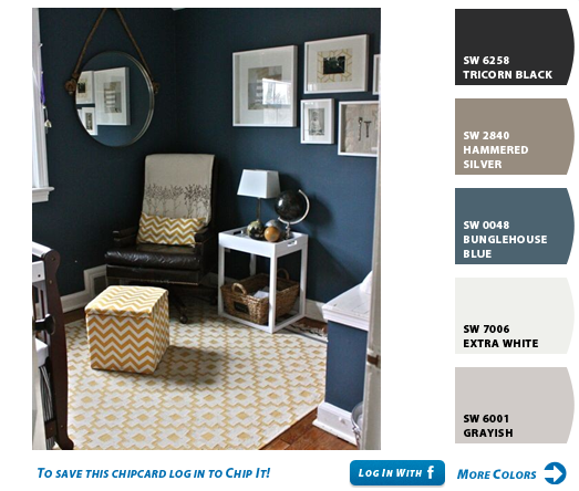 Sherwin Williams Navy Paint Google Search